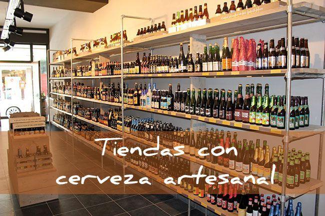 tiendas con cerveza artesanal